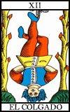 Significado de la carta El colgado